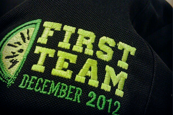 First Team T-shirt Graphic Design