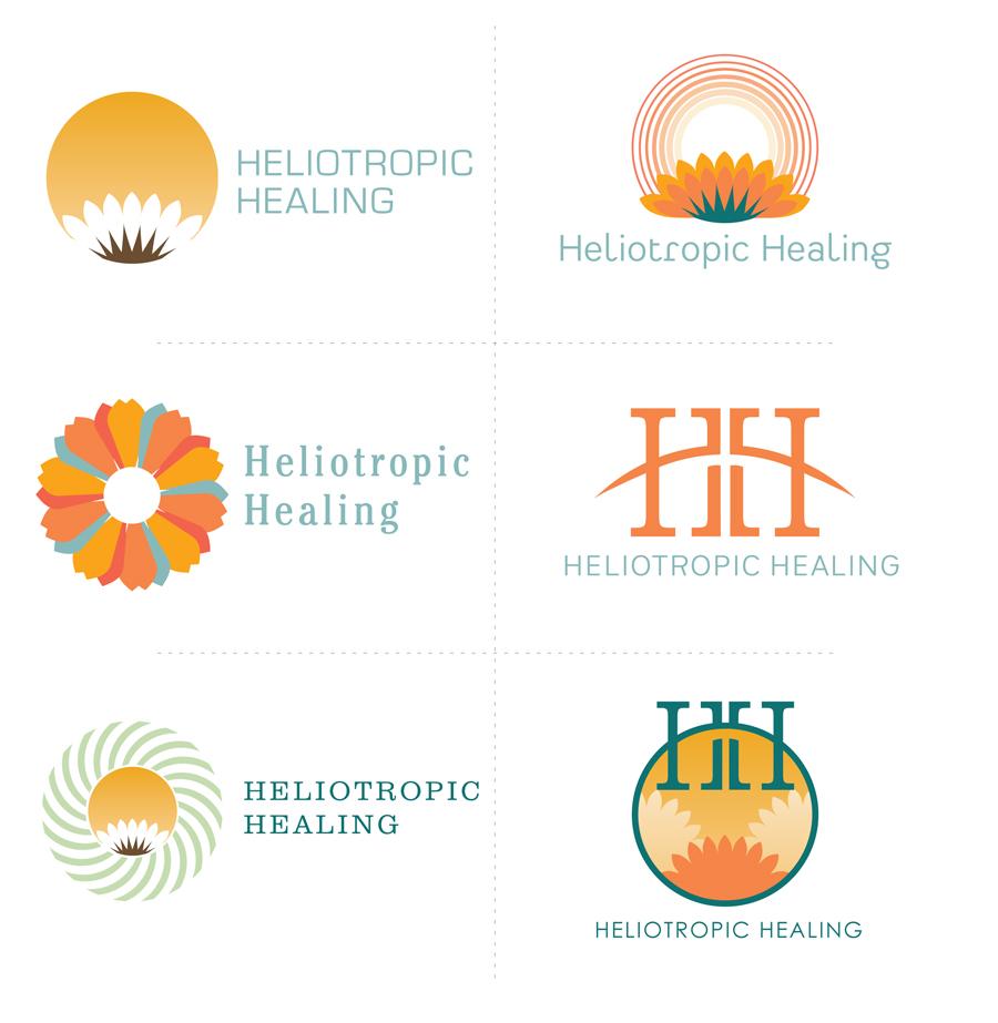 Heliotropic Healing Chiropractic Logo
