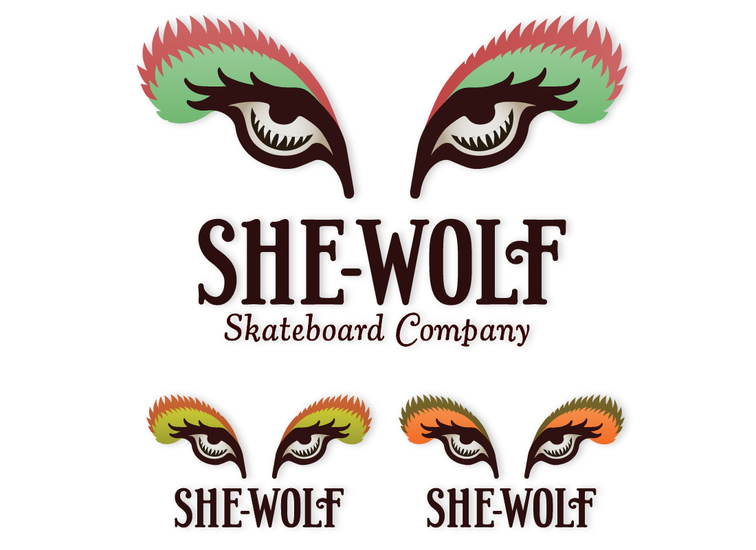 She-Wolf Logo Design