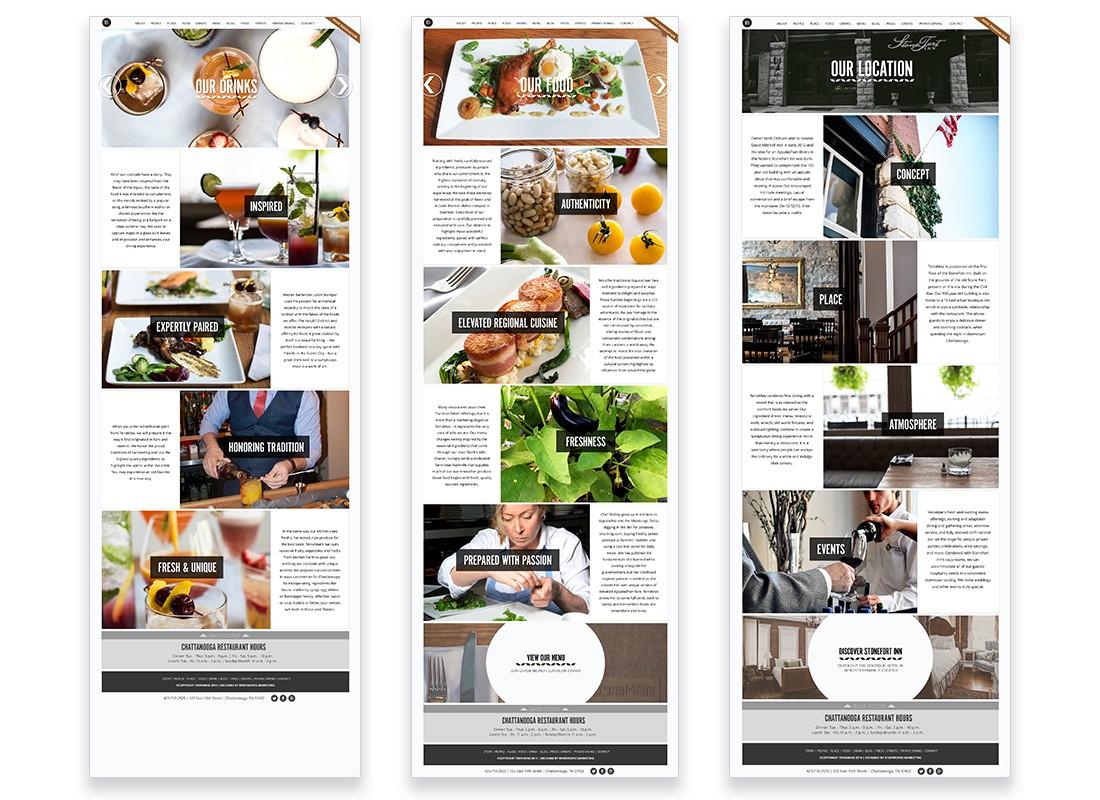 TerraMae Website Design Interior