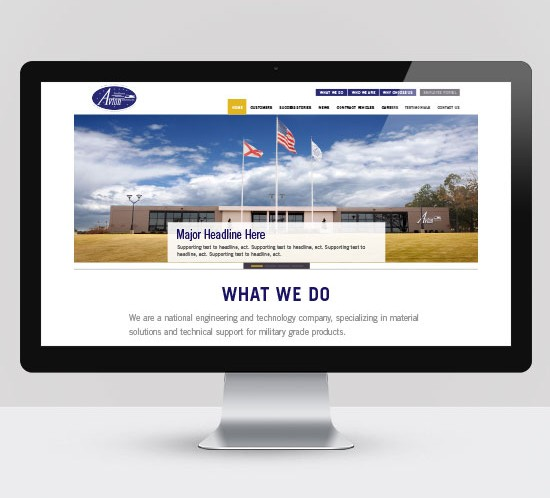 Website Design Avion Solutions