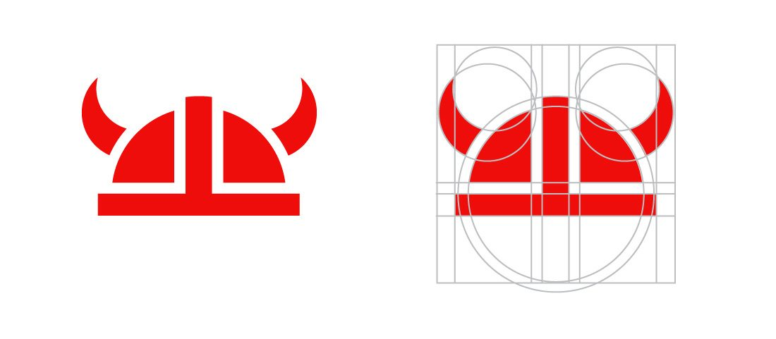 Armor Shields Logo Geometry