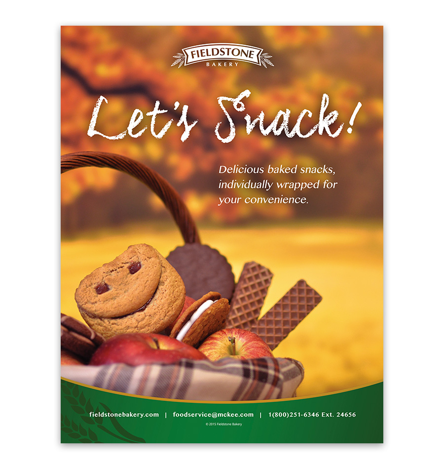 Let's Snack Fall Ad